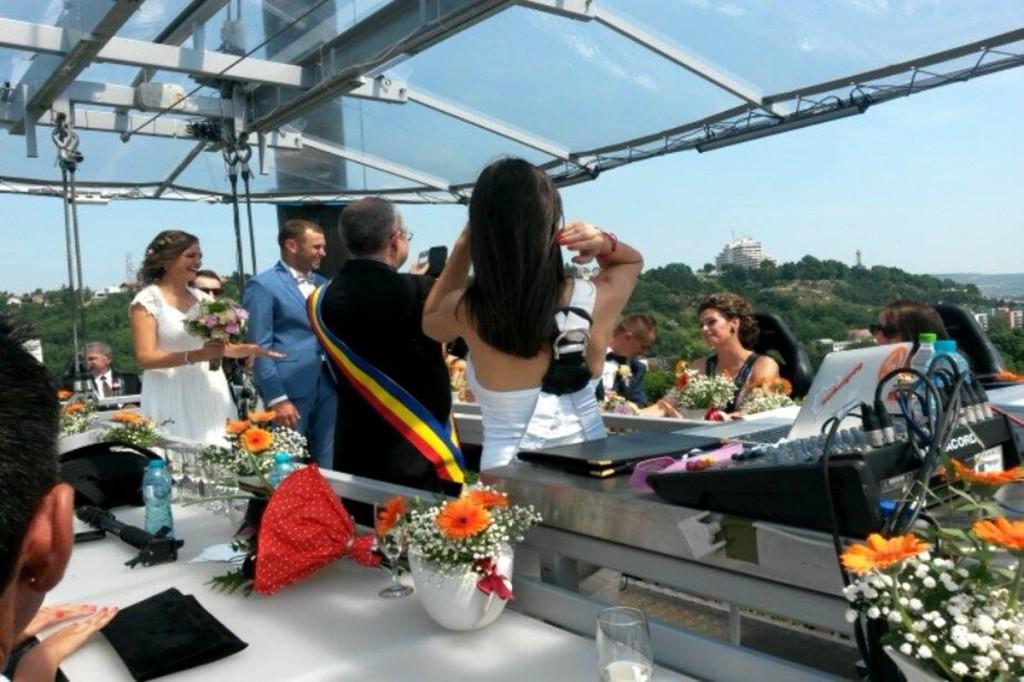 Doar la Cluj – căsătorii civile la înălțime