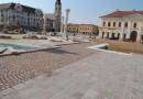Cum arată Piaţa Unirii din Oradea în timpul lucrărilor de reabilitare