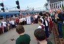 Trenul cu pelerini din Budapesta a sosit in gara Cluj-Napoca
