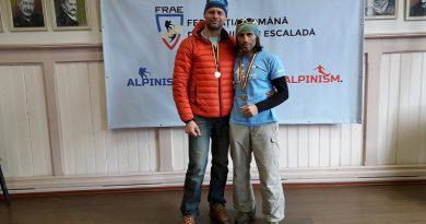 Salvamontisti clujeni, campioni nationali la schi