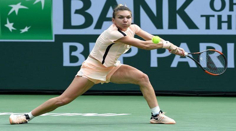 Simona Halep pulverizata la Indian Wells