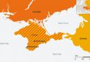 Stare de urgenta in Crimeea dupa explozii la stalpi de electricitate