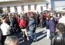 Protest spontan la ANAF Cluj, cu salariati iesiti in curte