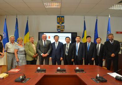 Delegatie chineza in vizita la Consiliul Judetean Cluj