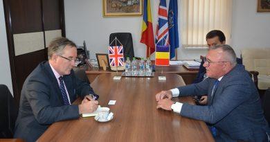 Noul ambasador al Marii Britanii in Romania, in vizita la Cluj