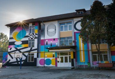 Arta in curtea scolii – Lasati artistii stradali sa coloreze Clujul