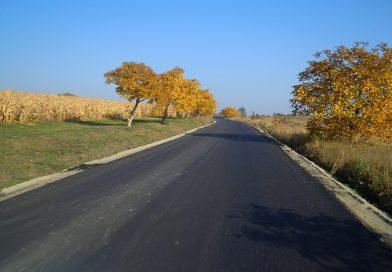 Au fost finalizate lucrarile de asfaltare pe drumul judetean 109V Padureni – Satu Lung