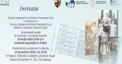 Expozitie privind evolutia starii civile si a evidentei populatiei in Ardeal