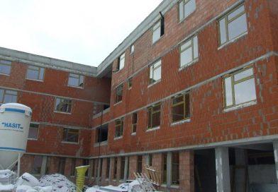 Ritm alert de constructie la internatul Liceului pentru Deficienti de Auz