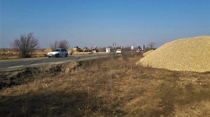 Miscari pe Autostrada Transilvania, santierul de la granita cu Ungaria