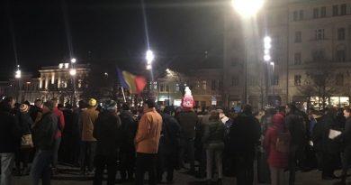 Clujenii s-au mobilizat aseara in strada pentru Kovesi
