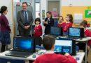 Ambasadorul UK la Bucuresti, in vizita la scoala regala din Cluj