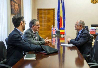 Vizita la Primarie a ambasadorului britanic