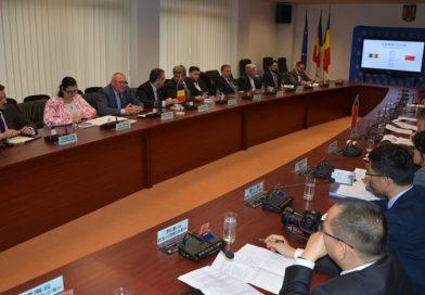 Inca o delegatie chineza la Consiliul Judetean