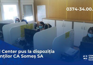 """Compania de Apa """"Somes"""" lanseaza un call-center"""
