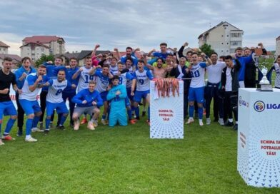 Unirea Dej a promovat in Liga 2 in ultima secunda
