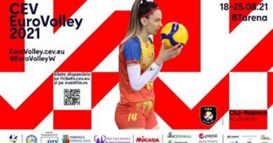 Campionatul European de Volei Feminin la Cluj din 18 august